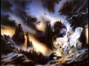 Doesn't this spectacular image nearly depict a scene from the story? http://buzzymag.com/to-touch-a-unicorn-by-angela-mcgill/#